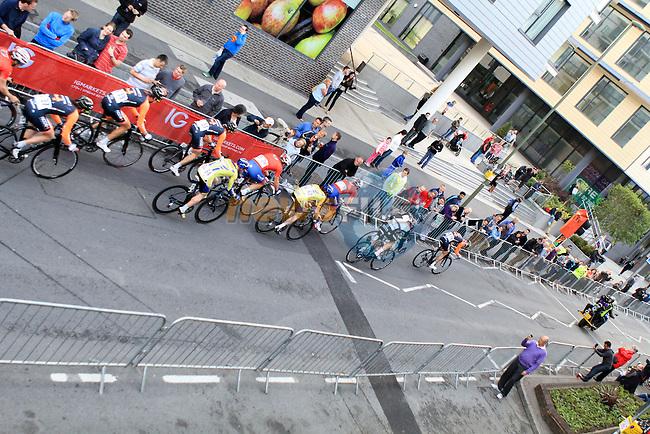 Woking, UK - Tour Series - Round 9 - 11th June 2013<br /> Photo:Thomas Van Bracht/Peloton Photos/Newsfile