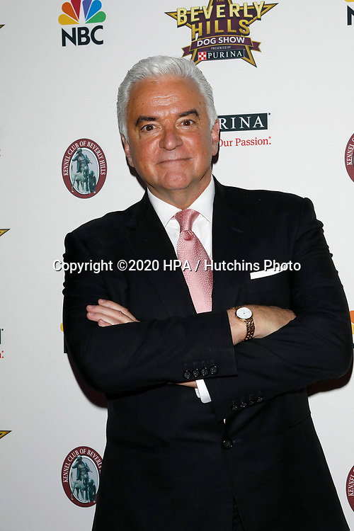 LOS ANGELES - FEB 29:  John O'Hurley at the Beverly Hills Dog Show Presented by Purina at the LA County Fairplex on February 29, 2020 in Pomona, CA