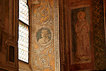 Frescoes and paintings inside the Church of St. Anastasia