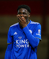 Leicester City U21s' Calvin Ughelumba<br /> <br /> Photographer Alex Dodd/CameraSport<br /> <br /> The EFL Checkatrade Trophy - Northern Group B - Fleetwood Town v Leicester City U21 - Tuesday September 11th 2018 - Highbury Stadium - Fleetwood<br />  <br /> World Copyright &copy; 2018 CameraSport. All rights reserved. 43 Linden Ave. Countesthorpe. Leicester. England. LE8 5PG - Tel: +44 (0) 116 277 4147 - admin@camerasport.com - www.camerasport.com