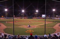 San Jose Municipal Stadium during a California League game between the San Jose Giants and the Visalia Rawhide on April 12, 2019 in San Jose, California. Visalia defeated San Jose 6-2. (Zachary Lucy/Four Seam Images)