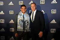 Dom Dwyer 16th pick of first round by Sporting Kansas City, Peter Vermes... The 2012 MLS Superdraft was held on January 12, 2012 at The Kansas City Convention Center, Kansas City, MO.