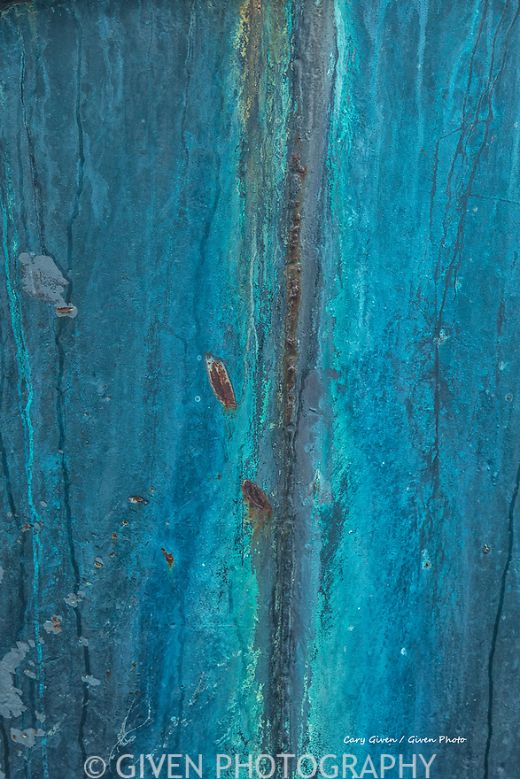 Abstract detail of fishing boat stern
