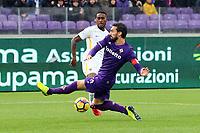 GOAL ROMA GERSON GOAL<br /> <br /> Firenze 05-11-2017 Stadio Artemio Franchi Calcio Serie A 2017/2018 Fiorentina - AS Roma Foto Filippo Rubin / Insidefoto