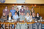 30th birthday celebrations for Dennis Lane from Duagh pictured here celebrating with family and friends last Saturday night in Leen's Hotel, Abbeyfeale. F l-r: Ann McCarthy, Julie Ann Lane, Johnny Curran, , Dennis, Winnie, Catherine and May Lane. B l-r: Padraig Keane, Patsy and Ann Lane, Kevin Quilter, Dan and Nora Mary Lane.