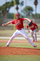 St. Louis Cardinals pitcher Landon Beck (23) during a Minor League Spring Training game against the Miami Marlins on March 26, 2018 at the Roger Dean Stadium Complex in Jupiter, Florida.  (Mike Janes/Four Seam Images)