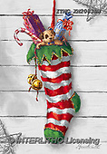Marcello, CHRISTMAS SYMBOLS, WEIHNACHTEN SYMBOLE, NAVIDAD SÍMBOLOS, paintings+++++,ITMCXM2083BW,#XX# ,Christmas stockings