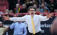 Basketball  1. Bundesliga  2017/2018  Hauptrunde  14. Spieltag  23.12.2017 Walter Tigers Tuebingen - Basketball Laewen Braunschweig Trainer Mathias Fischer (Tigers)