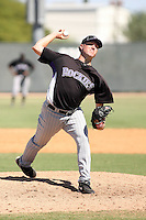 Chad Rose - Colorado Rockies - 2010 Instructional League.Photo by:  Bill Mitchell/Four Seam Images..