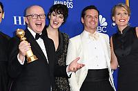 05 January 2020 - Beverly Hills, California - Phoebe Waller-Bridge, Andrew Scott. 77th Annual Golden Globes - Press Room held at Beverly Hilton Hotel. Photo Credit: Birdie Thompson/AdMedia