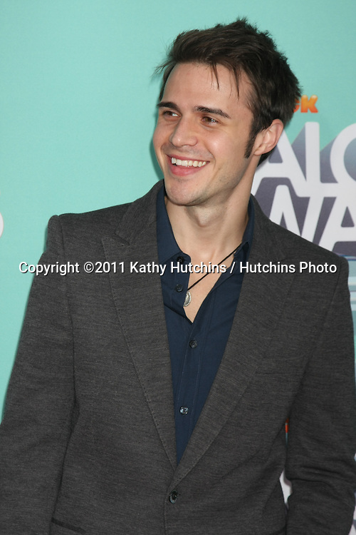 LOS ANGELES - OCT 26:  Kris Allen arriving at the 2011 Nickelodeon TeenNick HALO Awards at Hollywood Palladium on October 26, 2011 in Los Angeles, CA