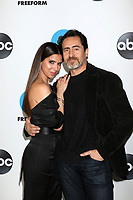 LOS ANGELES - FEB 5:  Roselyn Sanchez, Demian Bichir at the Disney ABC Television Winter Press Tour Photo Call at the Langham Huntington Hotel on February 5, 2019 in Pasadena, CA.<br /> CAP/MPI/DE<br /> ©DE//MPI/Capital Pictures