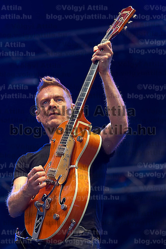 Star musician Bryan Adams performs during the 11th Connection Concert by T-Mobile at 56ers Square.