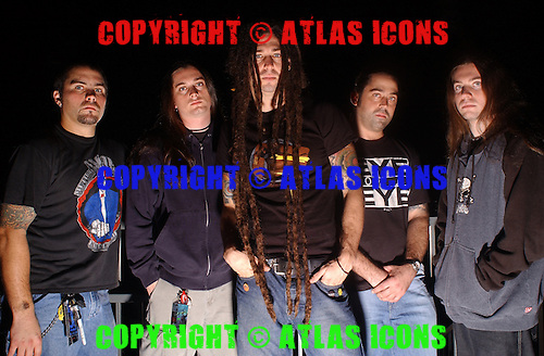 Shadows Fall; 2003<br /> Photo Credit: Eddie Malluk/Atlas Icons.com