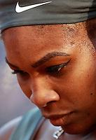 La statunitense Serena Williams agli Internazionali d'Italia di tennis a Roma, 17 maggio 2014.<br /> United States' Serena Williams during the Italian open tennis tournament, in Rome, 17 May 2014.<br /> UPDATE IMAGES PRESS/Isabella Bonotto