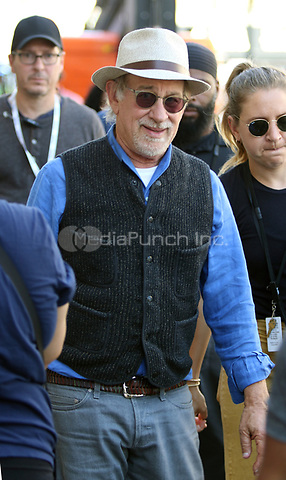 PATERSON, NJ - SEPTEMBER 3: Steven Spielberg pictured on the set of West Side Story in Paterson, New Jersey on September 3, 2019. Credit: John Barrett/PhotoLink/MediaPunch