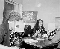 Celine Dion a des debuts en 1981-82 - entrevue TV<br /> <br /> PHOTO :  Agence Quebec Presse