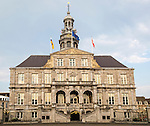 Stadhuis city hall building, market square, Maastricht, Limburg province, Netherlands, 1662, architect Pieter Post