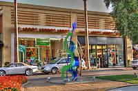 """The Village"", El Paseo Drive; Palm Desert; CA; Kate Spade, bebe, Boutiques; famous; retailers; fashion; haute couture;"