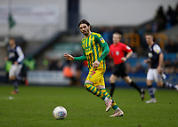 9th February 2020; The Den, London, England; English Championship Football, Millwall versus West Bromwich Albion; Filip Krovinovic of West Bromwich Albion