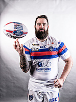 Picture by Allan McKenzie/SWpix.com - 11/01/18 - Rugby League - Super League - Wakefield Wildcats Media Day 2018 - Beaumont Legal Stadium, Belle Vue, Wakefield, England - Craig Huby.