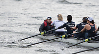 Mortlake/Chiswick, GREATER LONDON. United Kingdom Oxford University Women's   Boat  Club, Pre Boat Race Fixture  2017 Boat Race The Championship Course, Putney to Mortlake on the River Thames.<br /> OUWBC, Cox . Zoe De TOLEDO<br /> Saturday  18/03/2017<br /> <br /> [Mandatory Credit; Peter SPURRIER/Intersport Images]