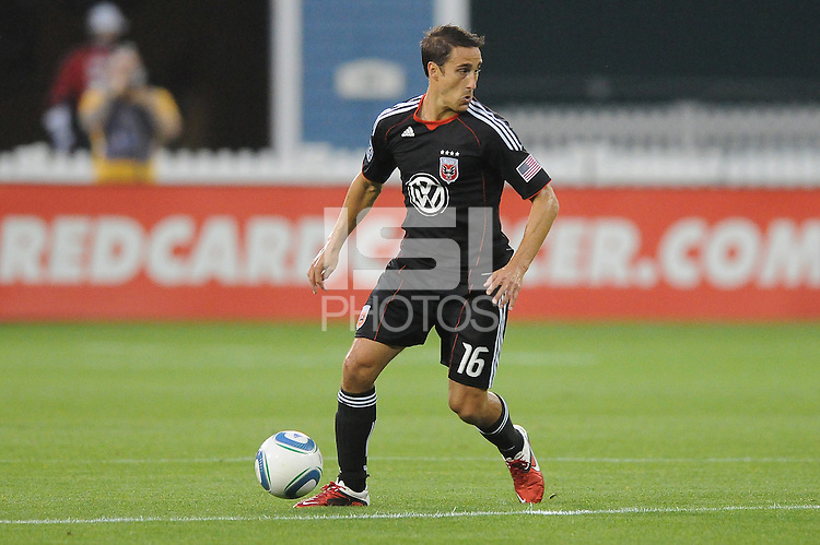 D.C. United forward  josh Wolff (16) File photo RFK stadium 2011 season.