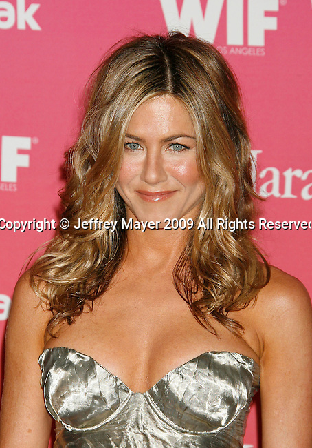 CENTURY CITY, CA. - June 12: Jennifer Aniston arrives at Women In Film's 2009 Crystal + Lucy Awards held at the Hyatt Regency Century Plaza on June 12, 2009 in Century City, California.