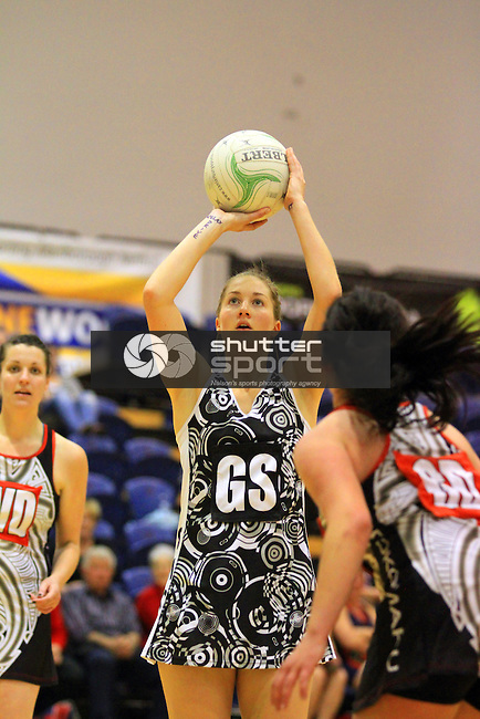 SMOG Stainless Systems vs Tokomaru Crafer & Crouch Premier Netball Final held at  Marlborough Lines Stadium 7th September 2013. Final Score 56-42 to SMOG . Photo Gavin Hadfield / Shuttersport