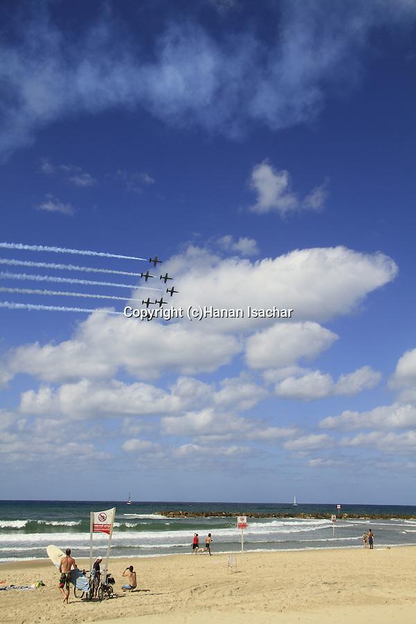 Israel, Breitling air show in Tel Aviv