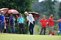 SINGAPORE - FEBRUARY 01: Yu Liu of China on the 1st green during the second round of the HSBC Women's World Championship 2019 at Sentosa Golf Club - Tanjong Course, Singapore on March 01, 2019.<br /> .<br /> .<br /> .<br /> (Photo by: Naratip Golf Srisupab/SEALs Sports Images)<br /> .<br /> Any image use must include a mandatory credit line adjacent to the content which should read: Naratip Golf Srisupab/SEALs Sports Images