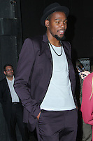 NEW YORK CITY, NY, USA - SEPTEMBER 23: Kevin Durant arrives at the NBA 2K15 Launch Celebration held at The Standard on September 23, 2014 in New York City, New York, United States. (Photo by Jeffery Duran/Celebrity Monitor)