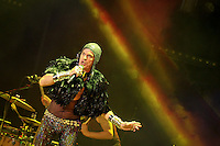 Portugal, Porto, 10/05/2014 - Show do artista Ney Matogrosso no Coliseu do Porto. (Foto: Pedro Lopes/Brazil Photo Press)