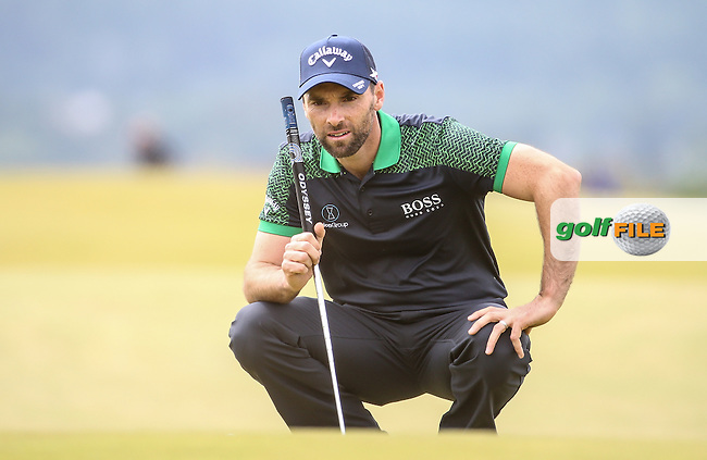 Oliver Wilson (ENG) during Round Three of the 2016 Aberdeen Asset Management Scottish Open, played at Castle Stuart Golf Club, Inverness, Scotland. 09/07/2016. Picture: David Lloyd | Golffile.<br /> <br /> All photos usage must carry mandatory copyright credit (&copy; Golffile | David Lloyd)