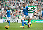 Celtic v St Johnstone &hellip;26.08.17&hellip; Celtic Park&hellip; SPFL<br />Michael O&rsquo;Halloran and Kieran Tierney<br />Picture by Graeme Hart.<br />Copyright Perthshire Picture Agency<br />Tel: 01738 623350  Mobile: 07990 594431