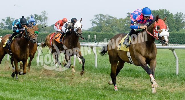 Rescator winning at Delaware Park on 9/1/12