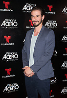 DORAL, FL - NOVEMBER 6: Oscar Priego on the red carpet for Telemundo's season premiereofSenora Acero,La Coyote in CineBistro at City Place Doral, Florida. November 6, 2017. Credit: mpi140 / MediaPunch /NortePhoto.com