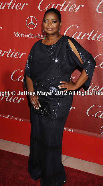 PALM SPRINGS, CA - JANUARY 07: Octavia Spencer arrives at the 2012 Palm Springs Film Festival Awards Gala at the Palm Springs Convention Center on January 7, 2012 in Palm Springs, California.