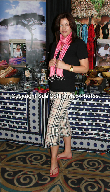 As The World Turns - Julie Pinson - Supporting Actress Nominee - Official Daytime Emmy Awards Gifting Suite on June 26, 2010 during 37th Annual Daytime Emmy Awards at Las Vegas Hilton, Las Vegas, Nevada, USA. (Photo by Sue Coflin/Max Photos)