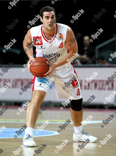 2010-02-13 / Basketbal / seizoen 2009-2010 / Antwerp Giants - Luik / Roel Moors..Foto: mpics
