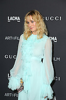 LOS ANGELES, CA - OCTOBER 29: Brie Larson attends the 2016 LACMA Art + Film Gala honoring Robert Irwin and Kathryn Bigelow presented by Gucci at LACMA on October 29, 2016 in Los Angeles, California. (Credit: Parisa Afsahi/MediaPunch).