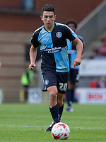 Luke O'Nien of Wycombe Wanderers on the ball during the Sky Bet League 2 match between Leyton Orient and Wycombe Wanderers at the Matchroom Stadium, London, England on 19 September 2015. Photo by Andy Rowland.