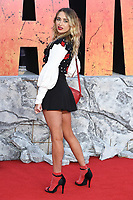 "Georgia Harrison arriving for the ""Rampage"" premiere at the Cineworld Empire Leicester Square, London, UK. <br /> 11 April  2018<br /> Picture: Steve Vas/Featureflash/SilverHub 0208 004 5359 sales@silverhubmedia.com"