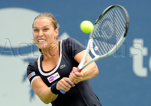 31.07.2013.la Costa Country Club, Carlsbad, California, USA.  Dominika Cibulkova (SVK) during a match against Ana Ivanovic (SRB) during the Southern California Open played at the La Costa Resort & Spa in Carlsbad CA.