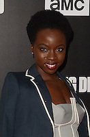 HOLLYWOOD, CA - OCTOBER 23: Danai Gurira at AMC Presents Live, 90-Minute Special Edition of 'Talking Dead' at Hollywood Forever on October 23, 2016 in Hollywood, California. Credit: David Edwards/MediaPunch