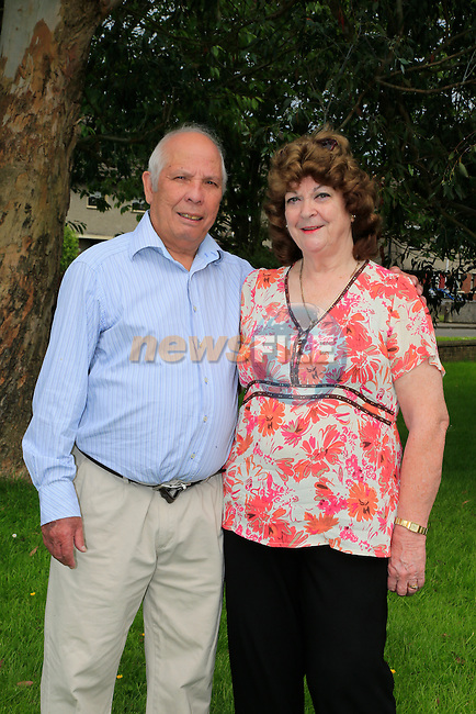 Kathy and Errol Le Brasse<br /> Picture:  www.newsfile.ie