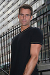 Cameron Mathison outside the All My Children Studios, New York City, New York. (Photo by Sue Coflin/Max Photos)