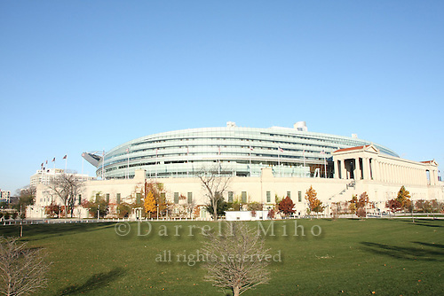 Nov. 08, 2008; Chicago, IL - Soldier Field..Photo credit: Darrell Miho