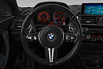 Car pictures of steering wheel view of a 2017 BMW M2 Base 2 Door Coupe