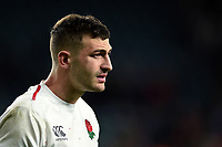 Jonny May of England looks on after the match. Guinness Six Nations match between England and Italy on March 9, 2019 at Twickenham Stadium in London, England. Photo by: Patrick Khachfe / Onside Images